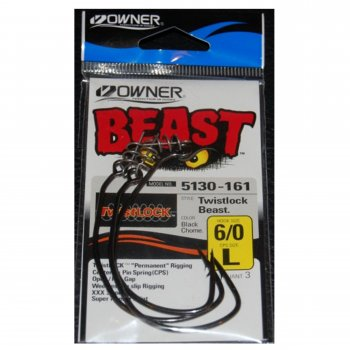 Jig Owner 5130 No.12/0 Beast Twistlock