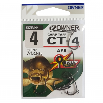 Carlig Owner CT-4 No.6 Carp Aya